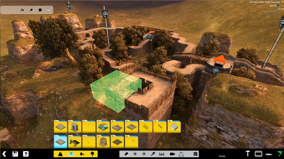 Map editor Shootmania
